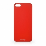 Чехол для iPhone 5/5S Happy Plugs Ultra Thin Case Red (8801)